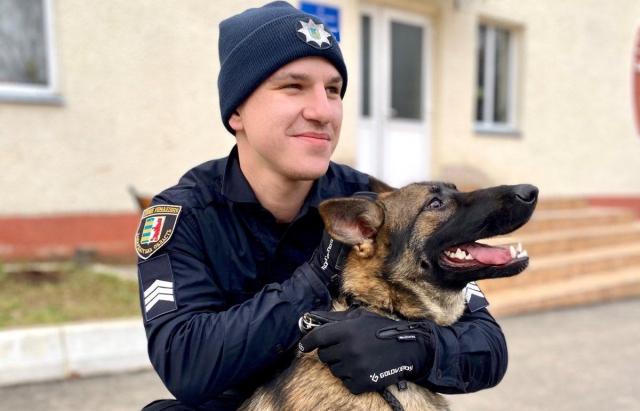 В Ужгороді вівчарка допомогла затримати зловмисника, який напав на пенсіонерку (ФОТО)