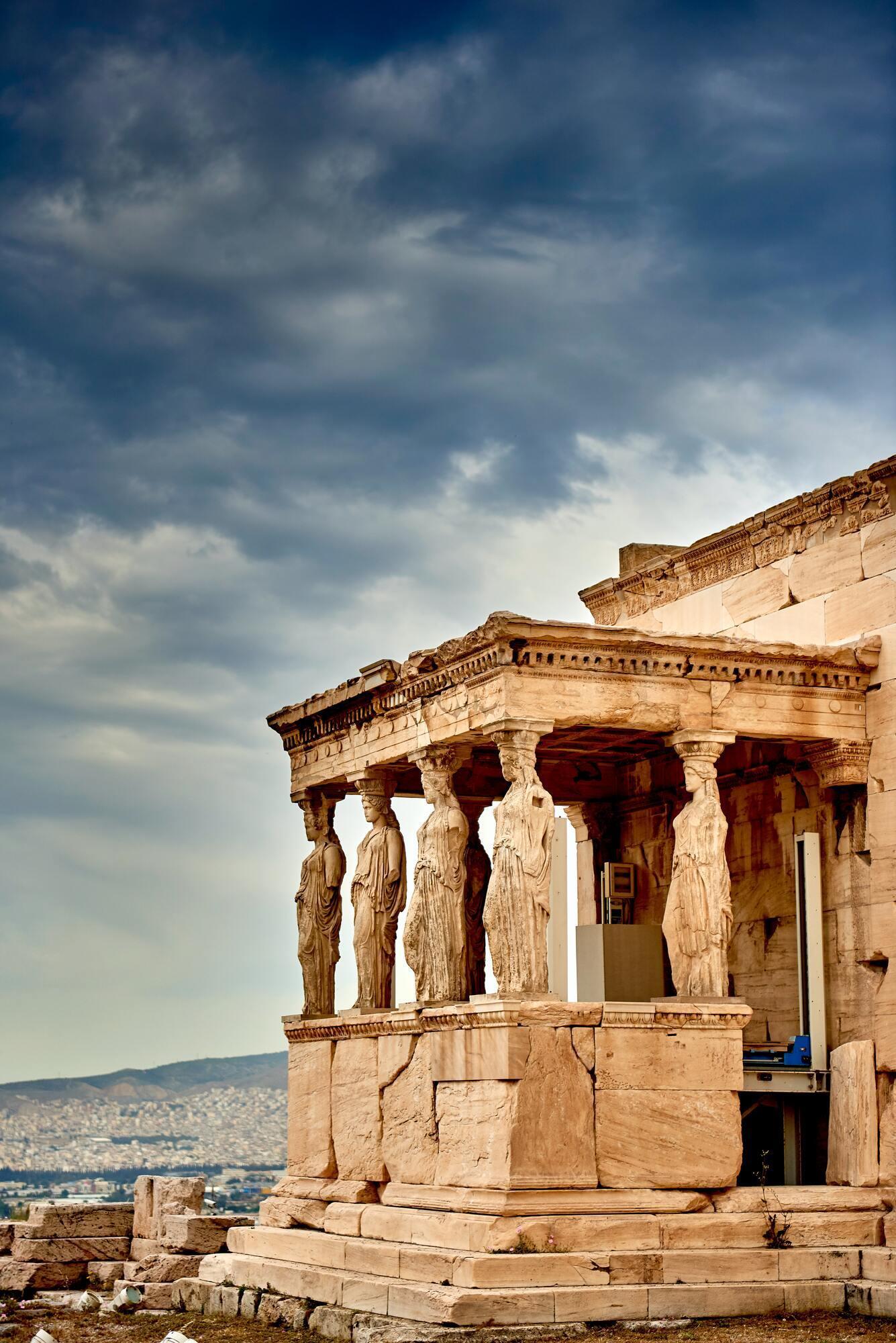 Особливе місце серед пам'яток Греції посідає Акрополь