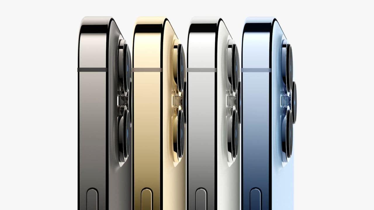 iPhone 13 Pro доступний у 4 кольорах