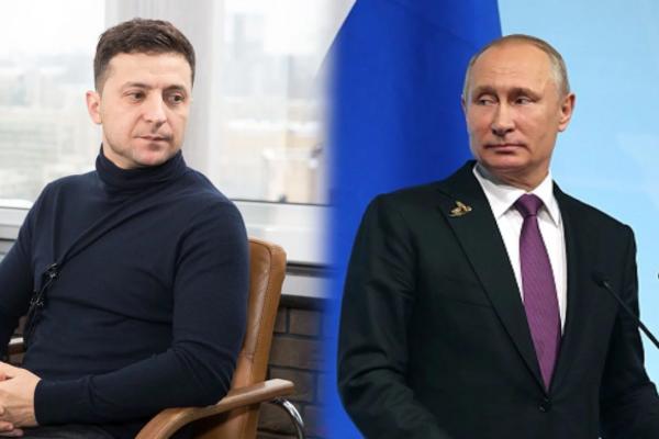 Зеленський і Путін