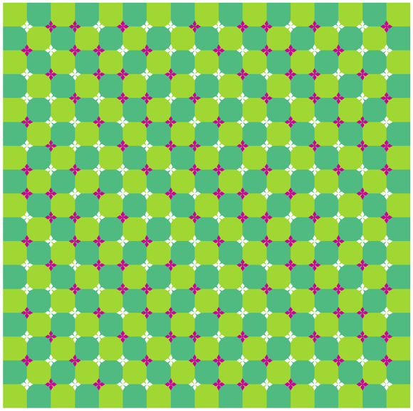 оптичні ілюзії: хвилі