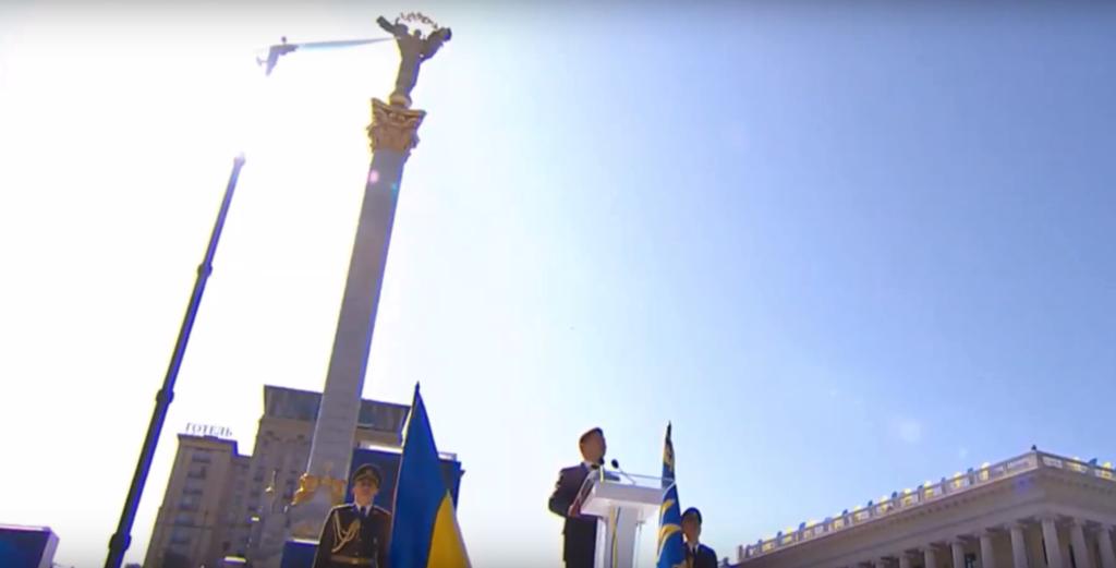 Зеленський подякував захисникам України