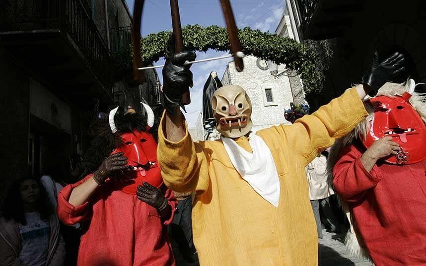 На Сицилії існує традиція переодягатися в демонів