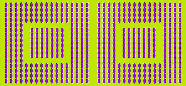 оптичні ілюзії: лінії