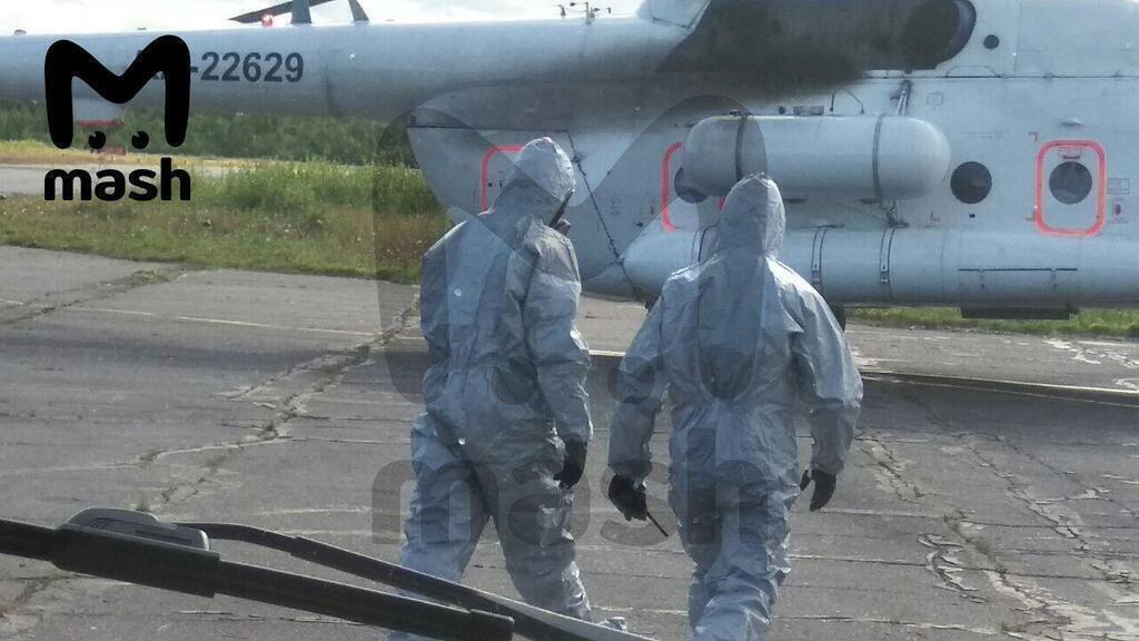 Постраждалих в Москву доправляли медики, одягнені в протирадіаційні костюми