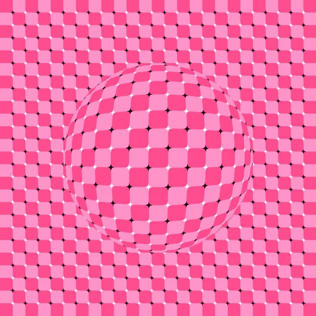 оптичні ілюзії: кулька
