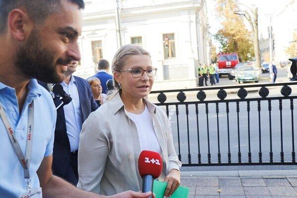 Юлія Тимошенко не прийшла до Ради