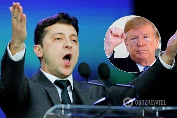 Володимир Зеленський і Дональд Трамп